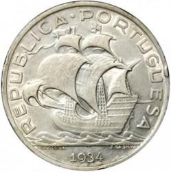 Coin > 10escudos, 1932-1948 - Portugal  - obverse