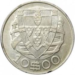 Coin > 10escudos, 1932-1948 - Portugal  - reverse