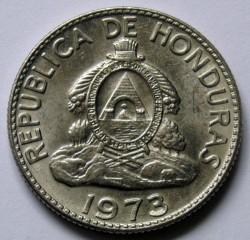 Moneta > 50sentavų, 1973 - Hondūras  - obverse