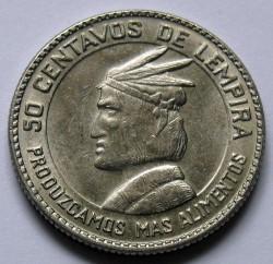 Moneta > 50centavos, 1973 - Honduras  - reverse