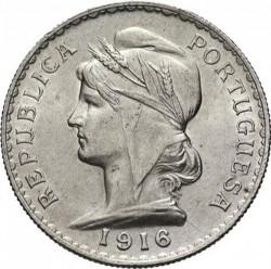 Монета > 1ескудо, 1915-1916 - Португалия  - obverse