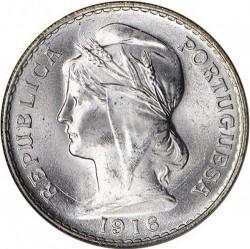 Mynt > 50centavos, 1912-1916 - Portugal  - obverse