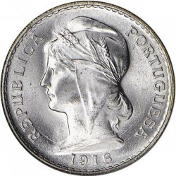 Mynt > 50centavos, 1912-1916 - Portugal  - reverse