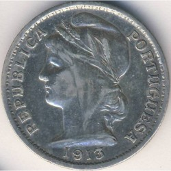 Coin > 20 centavos, 1913-1916 - Portugal  - reverse