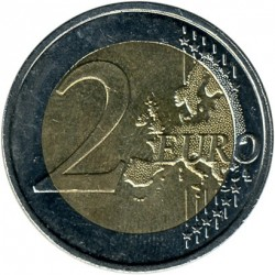 מטבע > 2אירו, 2007-2019 - לוקסמבורג  - obverse