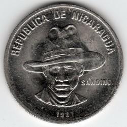 Munt > 25centavos, 1981-1985 - Nicaragua  - obverse