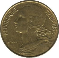 Moneda > 20céntimos, 1990 - Francia  - obverse