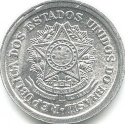 Coin > 20centavos, 1956-1961 - Brazil  - obverse