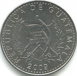 سکه > 10سنتاوو, 2009-2016 - گواتمالا  - obverse