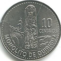 سکه > 10سنتاوو, 2009-2016 - گواتمالا  - reverse
