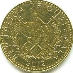 Moneta > 50centavos, 2012 - Gwatemala  - obverse
