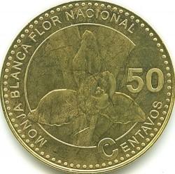 Moneta > 50centavos, 2012 - Gwatemala  - reverse