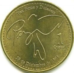 سکه > 1کوئتزال, 2013-2017 - گواتمالا  - obverse