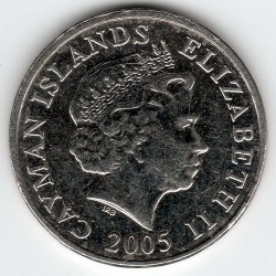 Coin > 5cents, 1999-2013 - Cayman Islands  - obverse