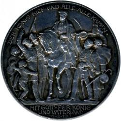 Moneda > 3marcos, 1913 - Alemán (Imperio)  (100º Aniversario - Declaración de Guerra a Francia) - obverse
