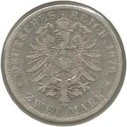 Moneta > 2marki, 1876-1883 - Cesarstwo Niemieckie  - reverse