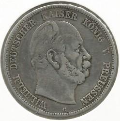 Moneda > 5marcos, 1874-1876 - Alemán (Imperio)  - obverse