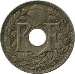 Moneda > 10centimes, 1938-1939 - França  - reverse
