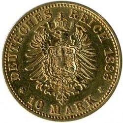 Νόμισμα > 10Μάρκα, 1888 - Γερμανική Αυτοκρατορία  (Friedrich III) - reverse
