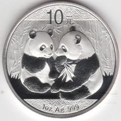 Moneta > 10yuan, 2009 - Cina  (Panda) - reverse
