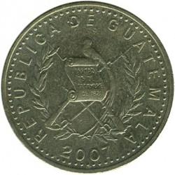 سکه > 50سنتاوو, 1998-2007 - گواتمالا  - obverse