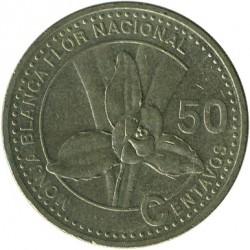 سکه > 50سنتاوو, 1998-2007 - گواتمالا  - reverse