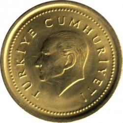 Moneta > 5.000lir, 1998-2001 - Turcja  - obverse