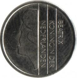 Кованица > 10центи, 1982-2001 - Холандија  - obverse