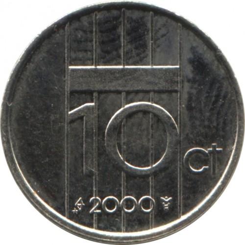 10 Cent 1982 2001 Niederlande Münzen Wert Ucoinnet