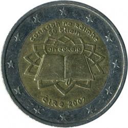Νόμισμα > 2Ευρώ, 2007 - Ιρλανδία  (50ή επέτειος - Υπογραφή της Συνθήκης της Ρώμης) - obverse
