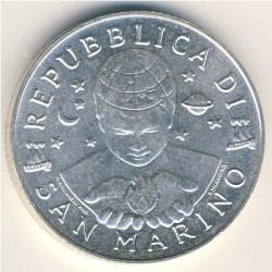 Moneta > 5000lire, 1999 - San Marino  (Esplorazione) - obverse