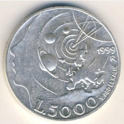 Moneta > 5000lire, 1999 - San Marino  (Esplorazione) - reverse