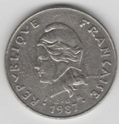 Монета > 50франков, 1972-2006 - Новая Каледония  - obverse