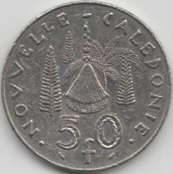 Монета > 50франков, 1972-2006 - Новая Каледония  - reverse