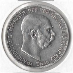 سکه > 5کرونا, 1909 - اتریش   (Inscription around the circle) - reverse