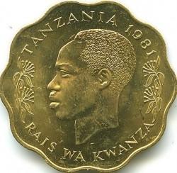 Moneta > 10senti, 1977-1984 - Tanzania  - obverse