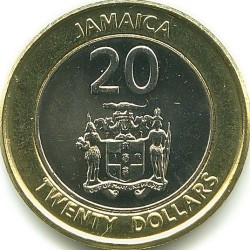 Münze > 20Dollar, 2000-2008 - Jamaika  - obverse