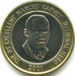 Münze > 20Dollar, 2000-2008 - Jamaika  - reverse