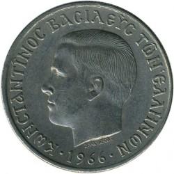 錢幣 > 5德拉克馬, 1966-1970 - 希臘  - obverse