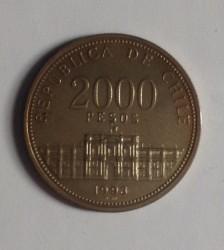 Moneta > 2000pesos, 1993 - Cile  (250° anniversario - Zecca del Cile) - reverse
