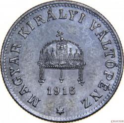Munt > 20filler, 1914-1922 - Hongarije  - obverse