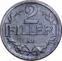 Moneda > 2filler, 1916-1918 - Hongria  - reverse