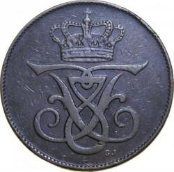 Münze > 5Öre, 1908 - Dänemark   - obverse