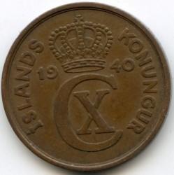 سکه > 5آورار, 1926-1942 - ایسلند  - obverse