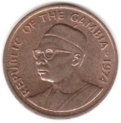 Moneda > 1butut, 1974-1985 - Gàmbia  (FAO - Aliments per els homes) - obverse