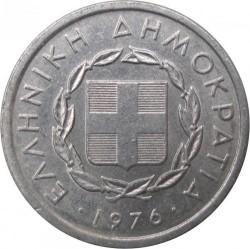 Монета > 10лепт, 1976-1978 - Греція  - obverse