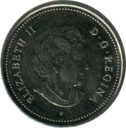 Coin > 5cents, 2003 - Canada  (New Effigy of Elizabeth II) - reverse