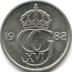 Moneta > 50ore, 1976-1991 - Szwecja  - obverse
