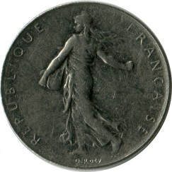 Coin > 1franc, 1978 - France  - reverse
