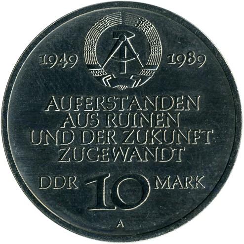 10 Mark 1989 Ddr Deutschland Ddr Münzen Wert Ucoinnet